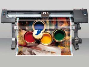 Широкоформатная печать на постерной бумаге