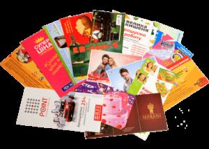 Печать визиток, листовок и постеров