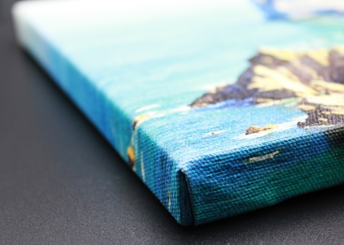 Широкоформатная печать на художественном холсте