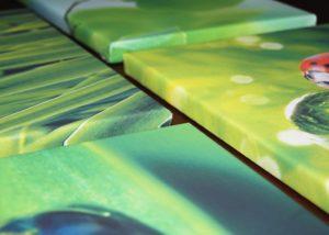 Печать на холсте, изготовление картин