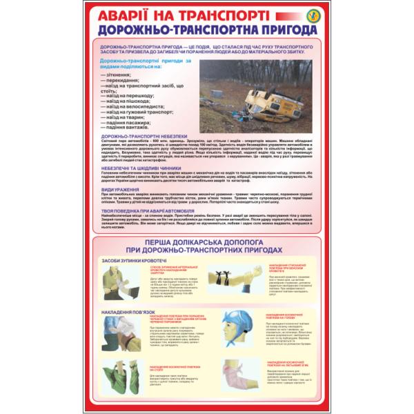 Стенд Аварії на транспорті, дорожньо-транспортна пригода (90005)