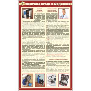 Стенд Охорона праці в медецині (94002)