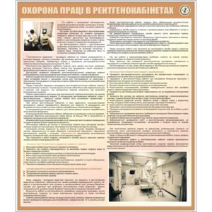 Стенд Охорона праці в рентгенокабінетах (94003)