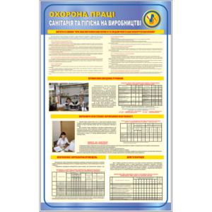 Стенд Санітарія та гігієна на виробництві (94007)
