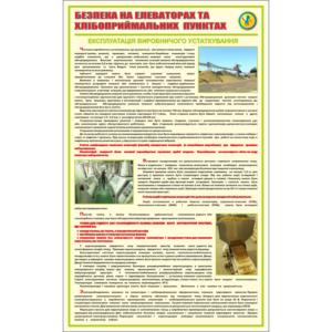Стенд Безпека на елеваторах та хлібоприймальних пунктах (95075)