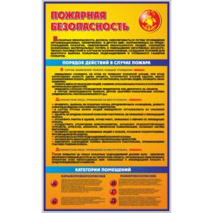 Стенд Пожарная безопасность (96005)